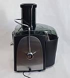 Соковыжималка HAEGER HG-2811 электрическая для твердых овощей и фруктов 1200W, фото 7