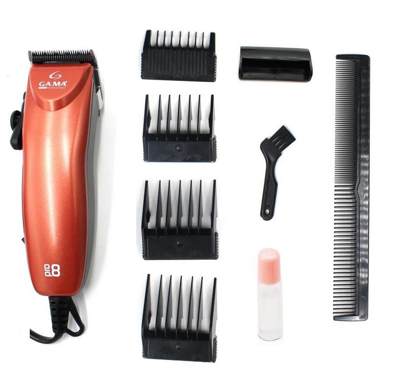 Машинка для стрижки волосся Ga.Ma PRO8 Limited Edition Red професійна