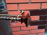 Карниз кованый двойной антик   25+16 Верди -2,4м, фото 1