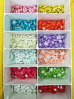 """Пуговица PG502 детская """"Цветочек"""" (упаковка 600 шт №24/15мм), фото 1"""