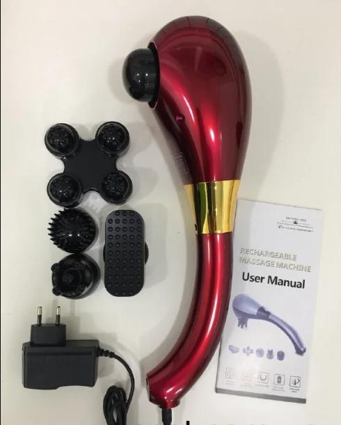 Ручной массажер электронный Rechargeable Massage Machine для всего тела.