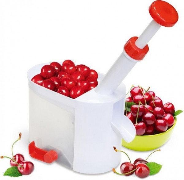 Машинка для удаления косточек с вишни Helfer Hoff Cherry (в ящике 48 шт).