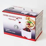 Машинка для удаления косточек с вишни Helfer Hoff Cherry (в ящике 48 шт)., фото 6