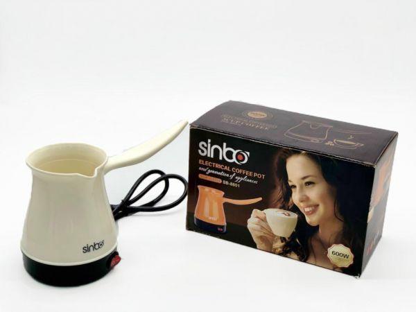 Электрическая Кофеварка SINBO ELECTRIC COFFEE POT.