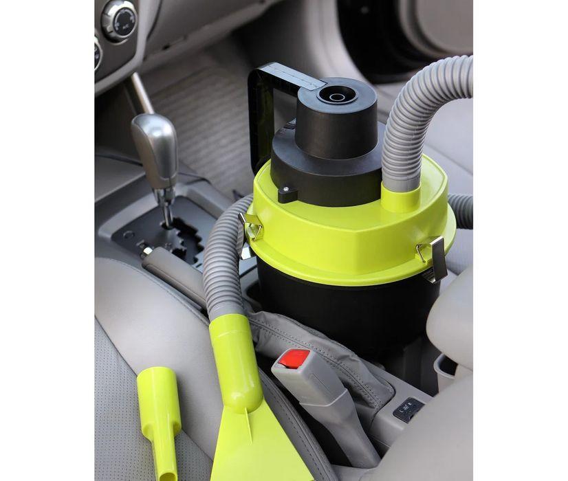Автомобильный пылесос для сухой и влажной уборки The Black multifunction wet and dry vacuum 120 W