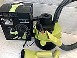 Автомобильный пылесос для сухой и влажной уборки The Black multifunction wet and dry vacuum 120 W, фото 2