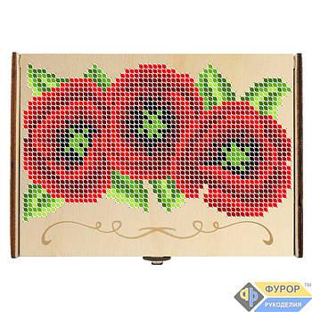 Органайзер для бисера деревянный для вышивки на 10-12 ячеек (КДв-05-3)