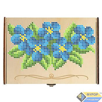Органайзер для бисера из дерева для вышивки на 10-12 ячеек (КДв-05-4)