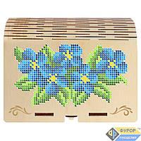Органайзер деревянный для бисера под вышивку на 16 ячеек, Арт. КДв-07-4, фото 1
