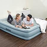 Двуспальная надувная кровать 203х152х46  WiFi, USB-порт Bestway 67708, фото 2