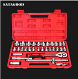Набор инструментов socket tools set 32 предмета для ремонта авто., фото 2