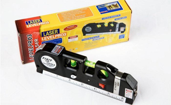 Лазерный уровень нивелир Fixit Laser Level Pro 3