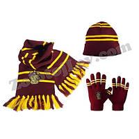 Набор перчатки, шапка, шарф Гриффиндор