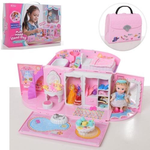 Домик - сумочка для куклы (подходит для LOL) арт. 051