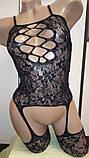 Сексуальна боді-сітка в упаковк боди сетка бодистокинг сексуальное белье, фото 4