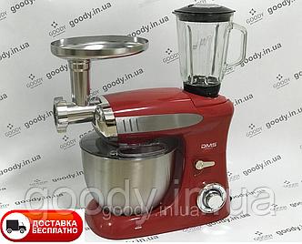 Кухонний комбайн 3в1 DMS Germany KMFB-1900R (червоний) 1900 Вт