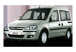 Брызговики для Opel (Опель) Combo C 2001-2011
