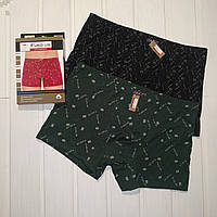 Мужские трусы боксерки хлопковые в упаковке 2 шт  Размер XL