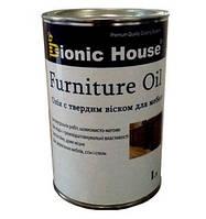 Масло для мебели Furniture Oil (колеруется) 1 л