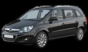 Брызговики для Opel (Опель) Zafira B 2005-2013