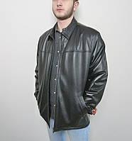 Мужская куртка Eleganza из натуральной кожи. Модель TONY+ размер 3XL