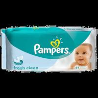 Детские влажные салфетки Pampers Baby Fresh Clean 64 шт!
