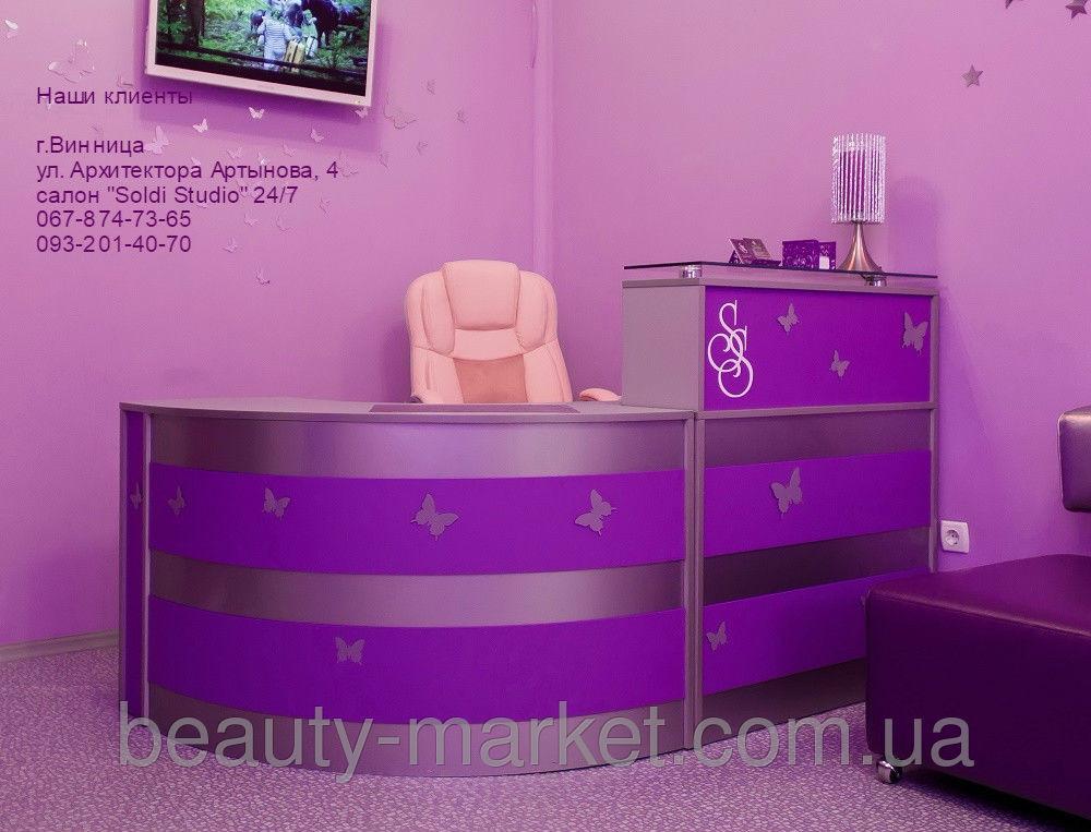 """Ресепшн """"Belinda"""", Офисное массажное кресло Lux"""