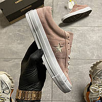 Converse One Star Premium Suede Pink (Розовый)