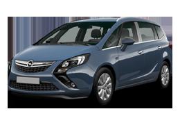 Брызговики для Opel (Опель) Zafira C/D 2011-2017+