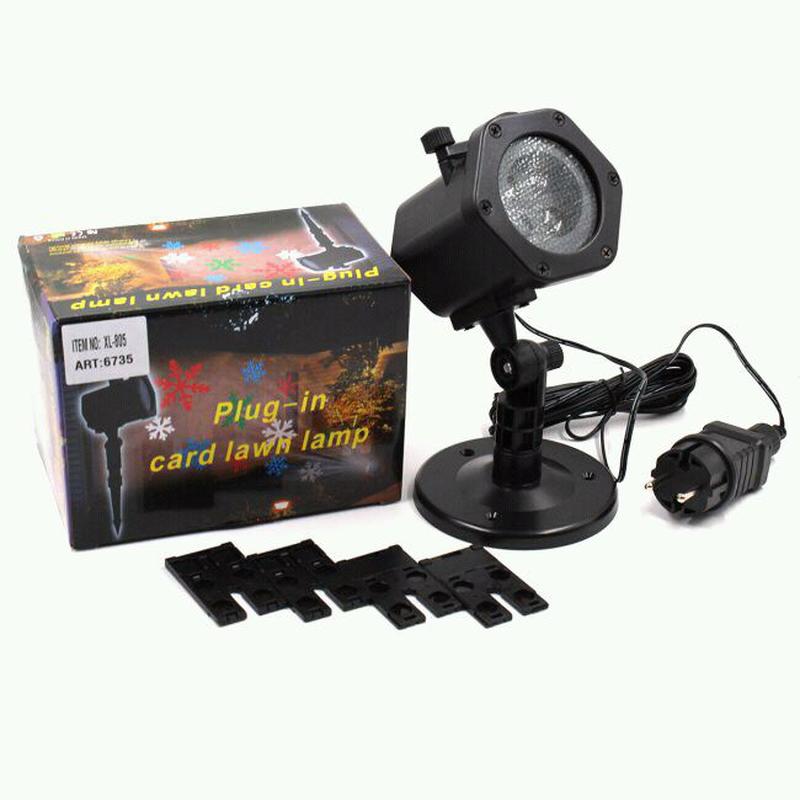 Диско лазер LASER Shower Light XL-805 уличный 5 cassete