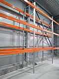 Траверса (балка) 1800мм 800кг для паллетного стеллажа, фото 6