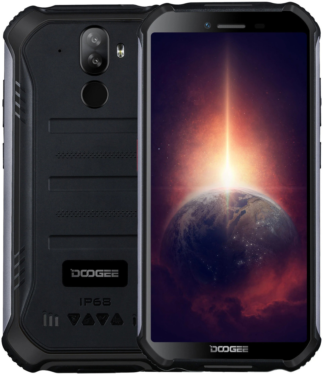 Doogee S40 Pro | Черный | IP68 | 4/64Гб | 4G/LTE | NFC | Гарантия