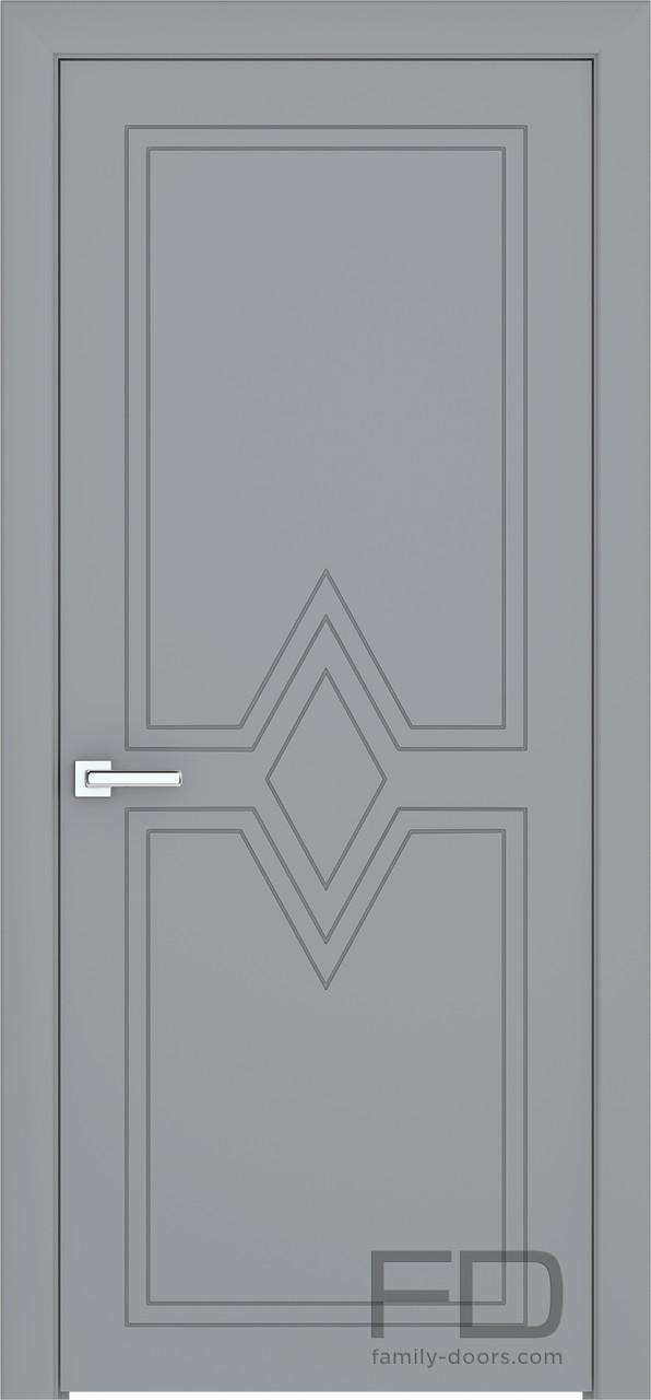 Межкомнатные двери Модерн 4 (Эмаль) FD