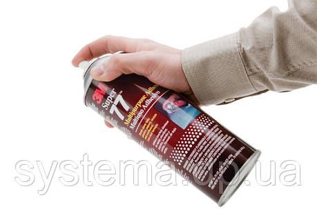 3M™ Scotch-Weld™ Super 77™ - Аэрозольный клей-спрей, 710 мл, 475 грамм, фото 2