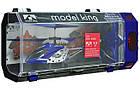 Вертолет на радиоуправлении King 33008 Синий, фото 5