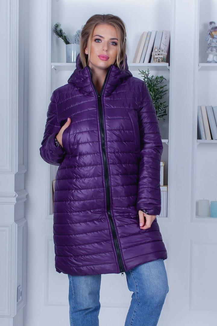 Зимнее женское пальто большие размеры