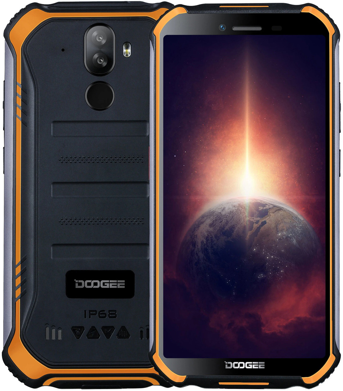 Doogee S40 Pro   Оранжевий   IP68   4/64gb   4G/LTE   NFC   Гарантія