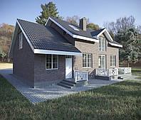 Проектирование и строительство жилого дома, проект коттеджа, индивидуальный жилой дом, услуги архитектора Киев