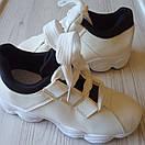 Белые кроссовки женские білі кросівки жіночі, фото 4
