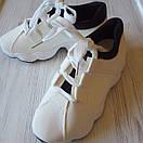 Белые кроссовки женские білі кросівки жіночі, фото 9