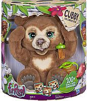 Интерактивный мишка Кубби Фуриал Любопытный Медвежонок Кабби FurReal Friends Cubby The Curious Bear Hasbro