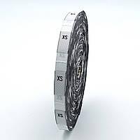 Размерник тканевый XS 1250шт. Белый