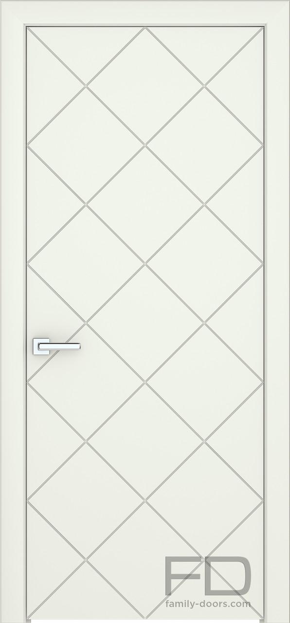 Межкомнатные двери Модерн 6 (Эмаль) FD