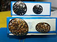 Пуговица PG510 металл в 2-х размерах (разные), фото 1