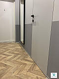 Плинтус алюминиевый напольный 60х10х2700мм. Плоский плинтус, фото 7