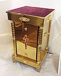 Підставка під ковчег або ливарне блюдо з булатнимі колонами 50*50*90см, фото 3