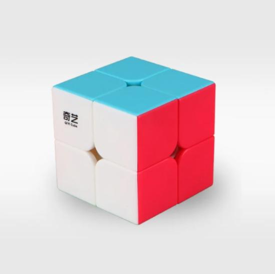 Кубик Рубіка 2x2 QiYi QiDi S, кольоровий пластик (KG-345)