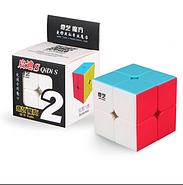 Кубик Рубіка 2x2 QiYi QiDi S, кольоровий пластик (KG-345), фото 2