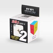 Кубик Рубіка 2x2 QiYi QiDi S, кольоровий пластик (KG-345), фото 3