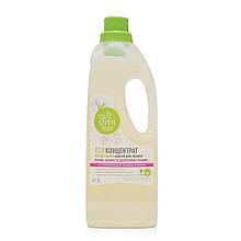 Экоконцентрат жидкий натуральный для стирки шерсти, шелка и деликатных тканей Green Max, 1000 мл